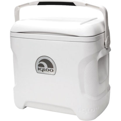 Picture of Igloo Marine Ultra 30 Qt. Contour Cooler, White