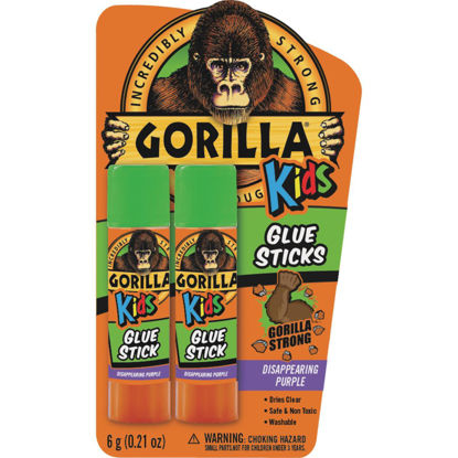 Picture of Gorilla 0.21 Oz. Clear Drying Glue Stick (2-Pack)