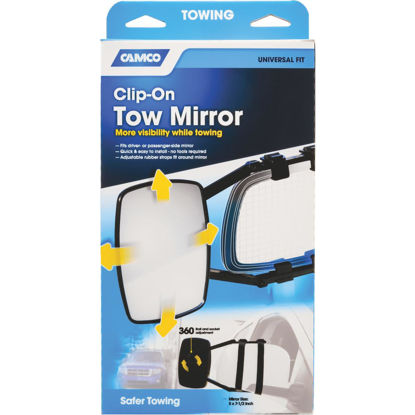 Picture of Camco Clip-On Towing Mirror