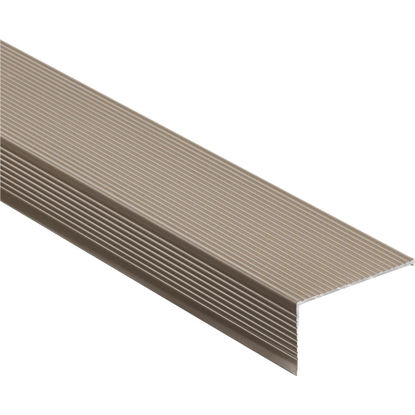 "Picture of M-D Ultra 2-3/4"" x 72"" Nickel Sill Nosing"
