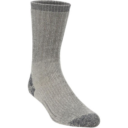 Picture of Hiwassee Trading Company Large Charcoal Heavy Weight Hiking Crew Sock