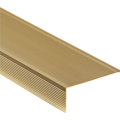 "Picture of M-D Ultra Brite Gold 36"" x 4-1/2"" Sill Nosing"