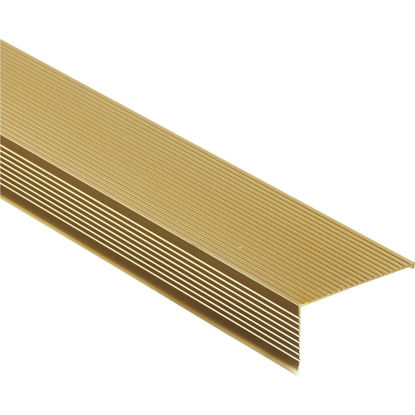 "Picture of M-D Ultra 2-3/4"" x 36"" Gold Sill Nosing"