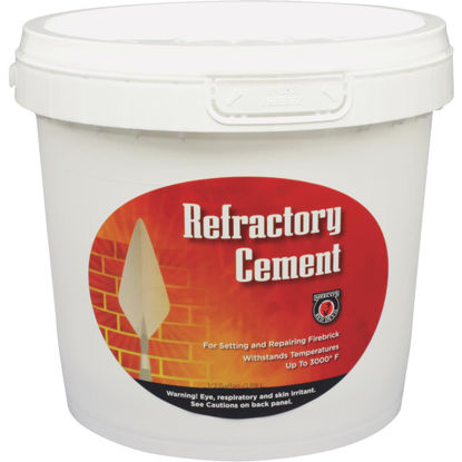 Picture of Meeco's Red Devil 1/2 Gal. Buff Refractory Furnace Cement