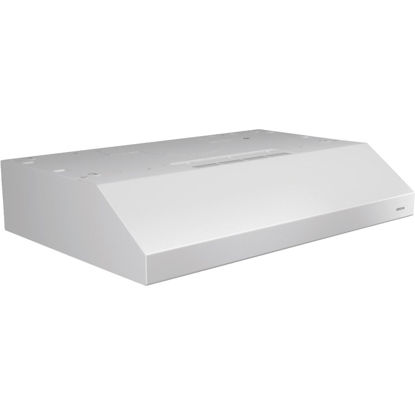Picture of Broan Glacier 30 In. Convertible White Range Hood
