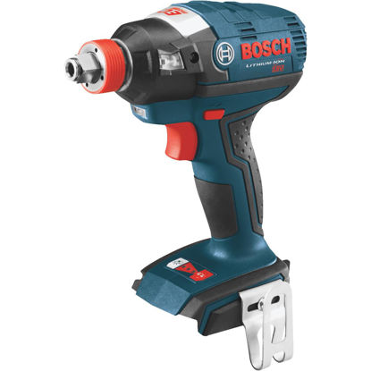 Picture of Bosch 18 Volt Lithium-Ion Brushless 1/4 In. and 1/2 In. Cordless Impact Driver (Bare Tool)