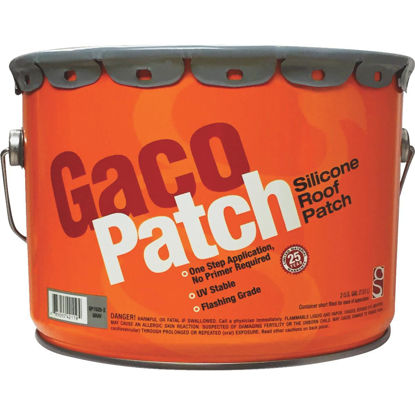 Picture of Gaco Western 2 Gal. Gray Silicone Roof Patch