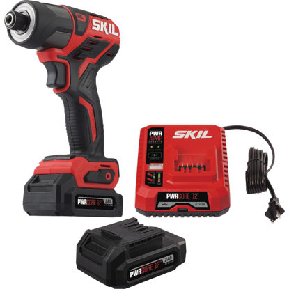 Picture of SKIL PWRCore 12 Volt Lithium-Ion Brushless 1/4 In. Hex Cordless Impact Driver