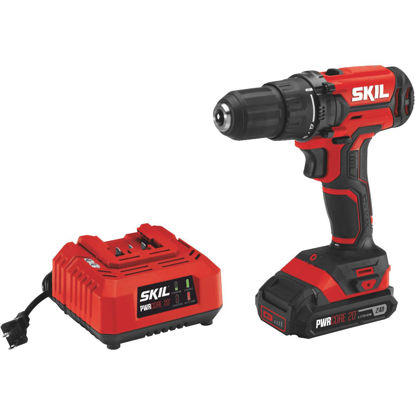 Picture of SKIL PWRCore 20 Volt Lithium-Ion 1/2 In. Cordless Drill/Driver Kit