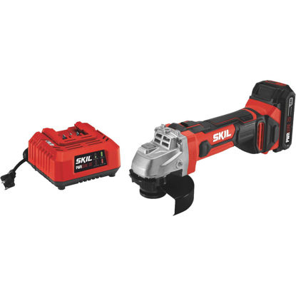 Picture of SKIL PWRCore 20 Volt Lithium-Ion 4-1/2 In. Cordless Angle Grinder Kit