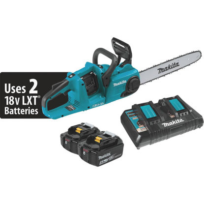 Picture of Makita 18V LXT Lithium-Ion Brushless Cordless 16 In. (5.0Ah) Chain Saw Kit