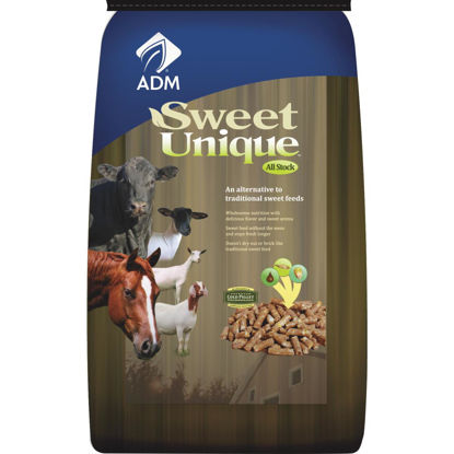 Picture of ADM Sweet Unique 50 Lb. All Stock Feed