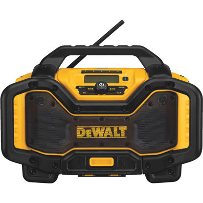 Picture of DeWalt 20 Volt Lithium-Ion Bluetooth Cordless Jobsite Radio/Charger (Bare Tool)