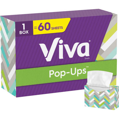 Picture of Viva Pop-Ups Paper Towels (60 Count)