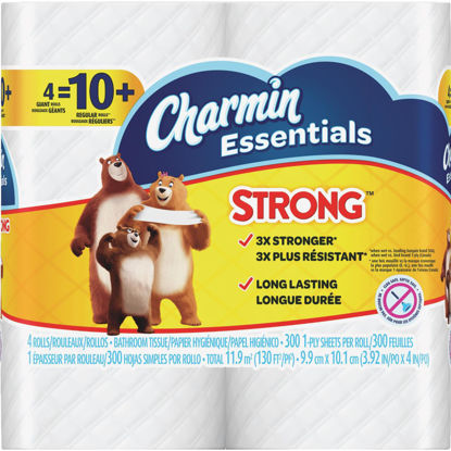 Picture of Charmin Essentials Toilet Paper (4 Giant Rolls)