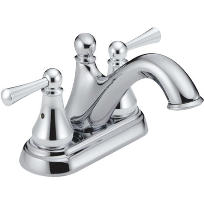 Picture of Delta Haywood Chrome 2-Handle Lever 4 In. Centerset Bathroom Faucet with Pop-Up