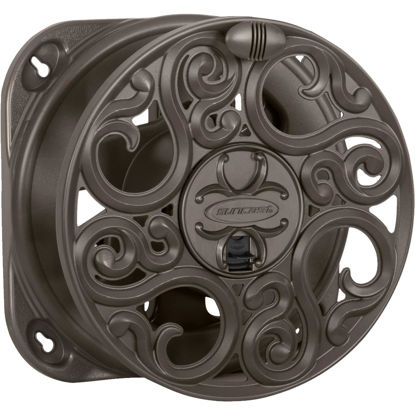 Picture of Suncast 60 Ft. x 5/8 In. Brown Resin Decorative Wall Mount Hose Reel