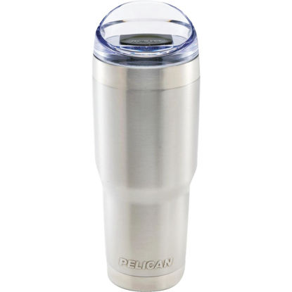 Picture of PELICAN 32 Oz. Silver Stainless Steel Insulated Tumbler with Slide Closure