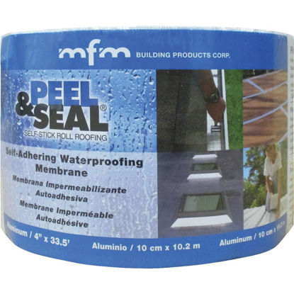 Picture of MFM Peel & Seal 4 In. X 33.5 Ft. Aluminum Roofing Membrane
