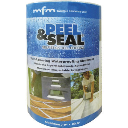 Picture of MFM Peel & Seal 9 In. X 33.5 Ft. Aluminum Roofing Membrane