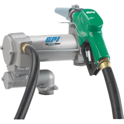 Picture of GPI 12V DC, 25 GPM Cabinet Fuel Transfer Pump