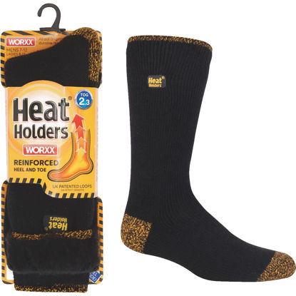 Picture of Heat Holders Worxx Large Black Thermal Socks