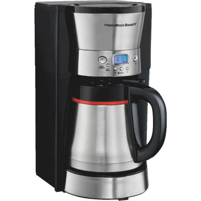 Picture of Hamilton Beach 10 Cup Programmable Black Coffee Maker