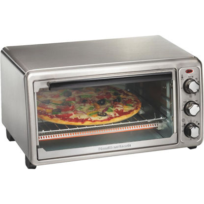 Picture of Hamilton Beach 6-Slice 4-Setting Stainless Steel Toaster Oven