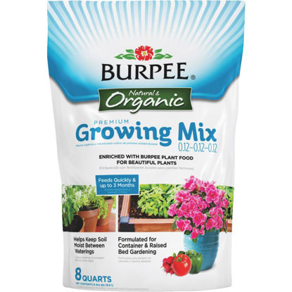 Picture of Burpee 8 Qt. All Purpose Container Organic Seed Starting Mix