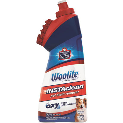 Picture of Woolite 18 Oz. INSTAclean Pet Stain Remover Oxy Stain Destroyers Formula with 2-In-1 Built-In Rinseable Brush