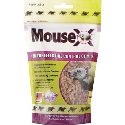 Picture of MouseX Pellet Mouse Killer, 8 Oz.