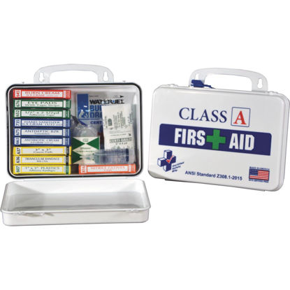 Picture of Certified Safety Class A ANSI & OSHA Certified First Aid Kit (82-Piece)
