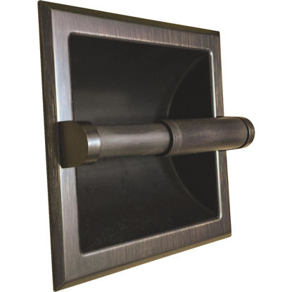 Picture of Home Impressions Aria Oil-Rubbed Bronze Recessed Toilet Paper Holder