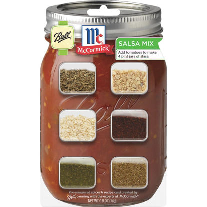 Picture of Ball & McCormick Salsa Recipe Card Mix
