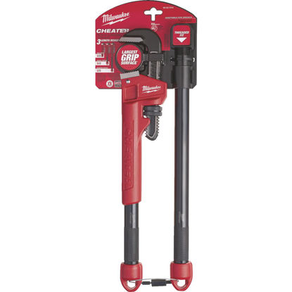 Picture of Milwaukee Cheater 10 In. to 24 In. Steel Adaptable Pipe Wrench