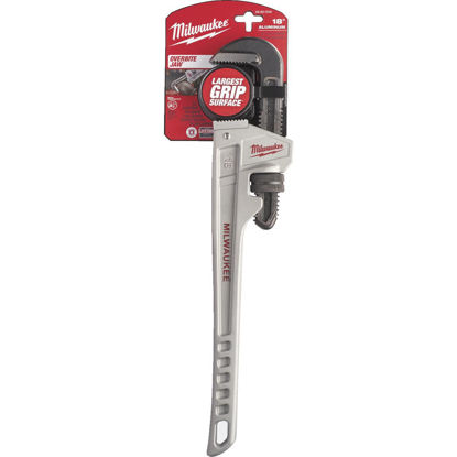 Picture of Milwaukee 18 In. Aluminum Pipe Wrench