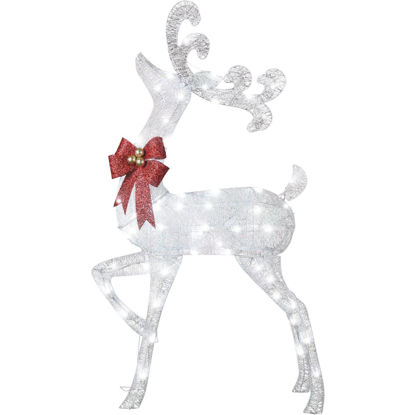 Picture of Gemmy 50.39 In. LED Illuminated Buck Holiday Figure