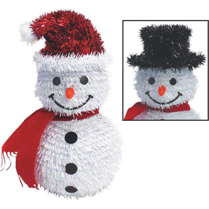 Picture of Youngcraft 11 In. Tinsel Snowman Holiday Decoration