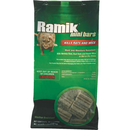 Picture of Ramik Bar Rat And Mouse Poison, 4 Lb.