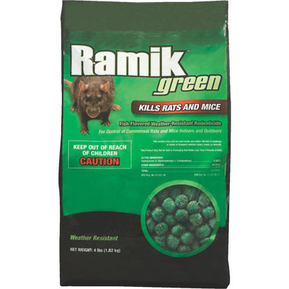 Picture of Ramik Green Nugget Rat And Mouse Poison, 4 Lb.