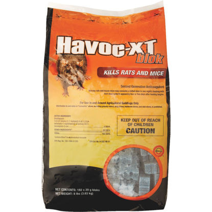 Picture of Havoc XT Block Rat And Mouse Poison, 8 Lb.