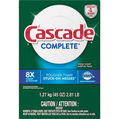 Picture of Cascade Complete 45 Oz. Powder Fresh Dishwasher Detergent