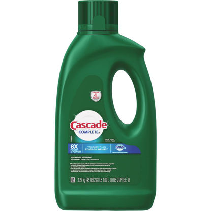 Picture of Cascade Complete 45 Oz. Liquid Gel Fresh Dishwasher Detergent