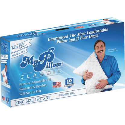 Picture of MyPillow Classic King Medium Fill Pillow
