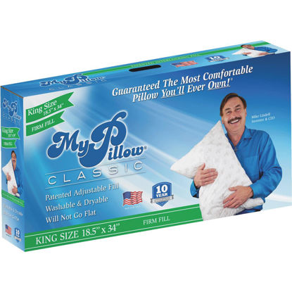 Picture of MyPillow Classic King Firm Fill Pillow