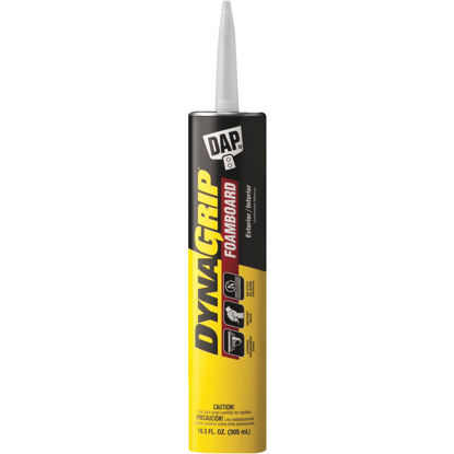Picture of DAP DYNAGRIP 10.3 Oz. Foam Board Construction Adhesive
