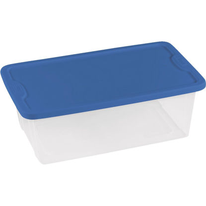 Picture of Homz 6 Qt. Clear Storage Tote