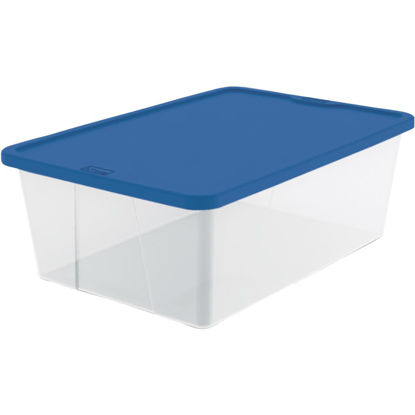 Picture of Homz 12 Qt. Clear Storage Tote