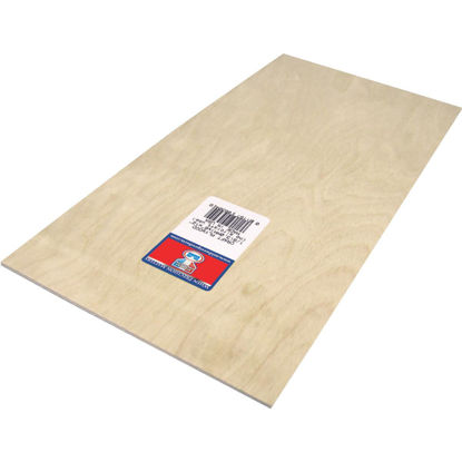 Picture of Midwest Products 1/8 In. x 6 In. x 12 In. Birch Plywood