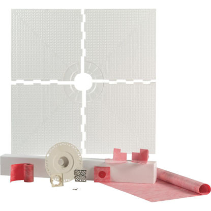 Picture of PROVA SHOWER System Kit 48 In. x 48 In. Center Drain with Curb